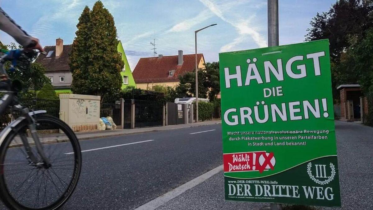 """La Justicia alemana autoriza a la ultraderecha a pedir """"colgar a Los Verdes"""""""