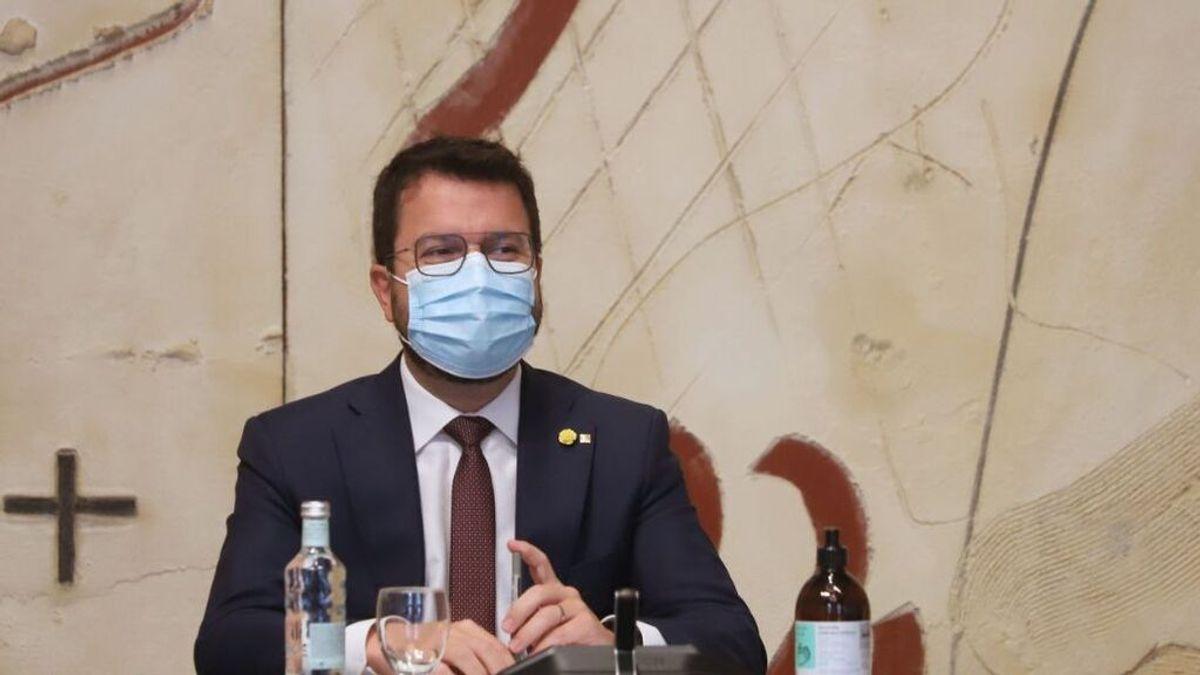 Aragonès rechaza la propuesta de representantes de Junts para la mesa de diálogo de este miércoles