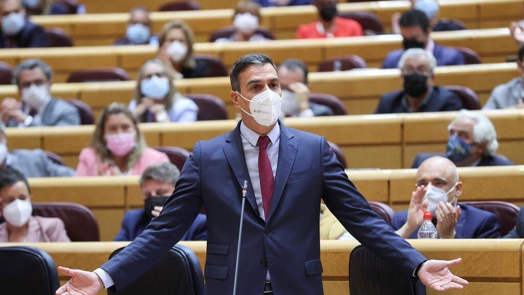El presidente del Gobierno, Pedro Sánchez,  pide autocrítica al independentismo