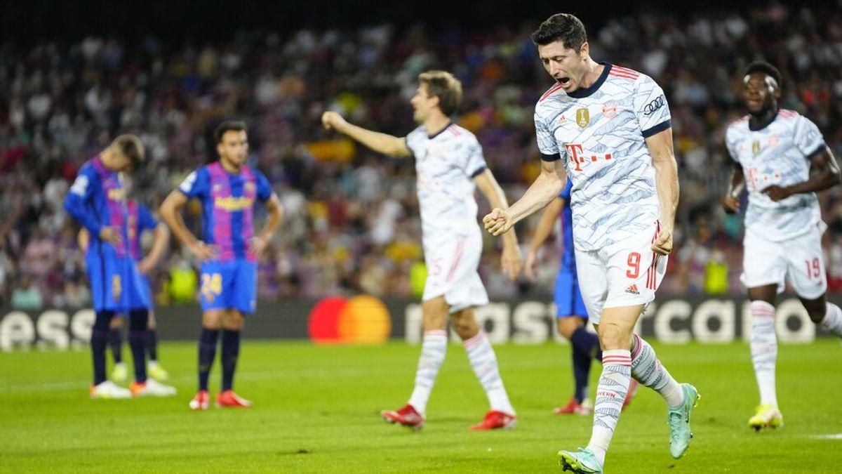 El Barça sigue viviendo una pesadilla con el Bayern (0-3)
