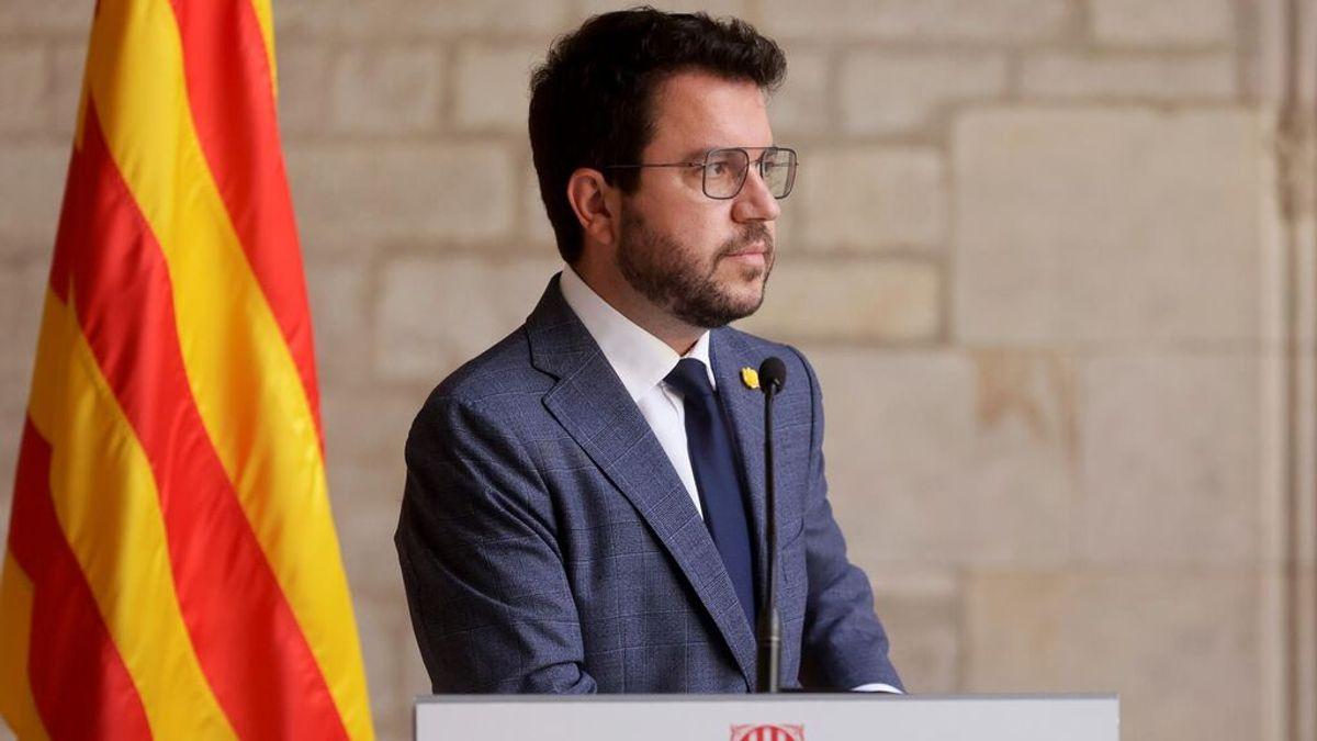 Aragonès deja a JxCat fuera de la mesa tras la primera gran crisis del Govern