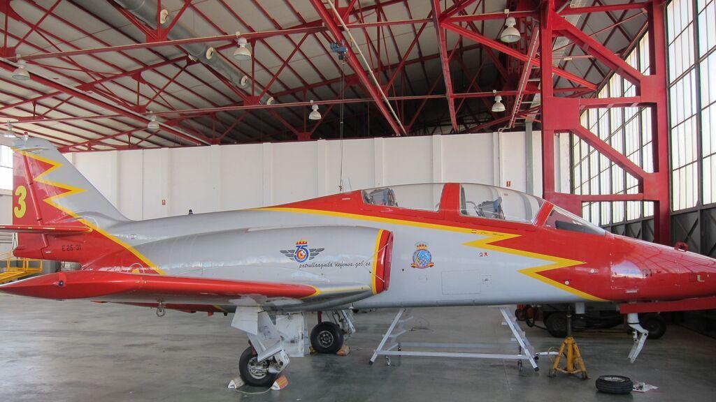 EuropaPress_2679681_avion_101_ejecito_aire_patrulla_aguila_academia_general_aire_aga