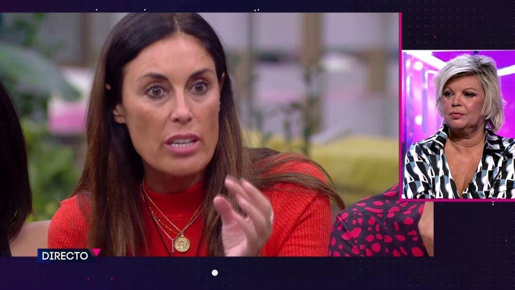 """Isabel Rábago planta cara a Bigote y Terelu le contesta desde plató: """"Es que no me puedo quedar callada"""""""