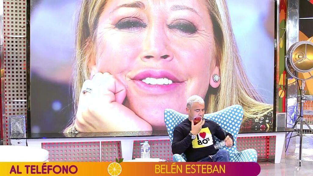 """Jorge Javier Vázquez advierte a Belén Esteban de que alguien va a hablar de ella y de su marido: """"¿Qué persona es?"""""""
