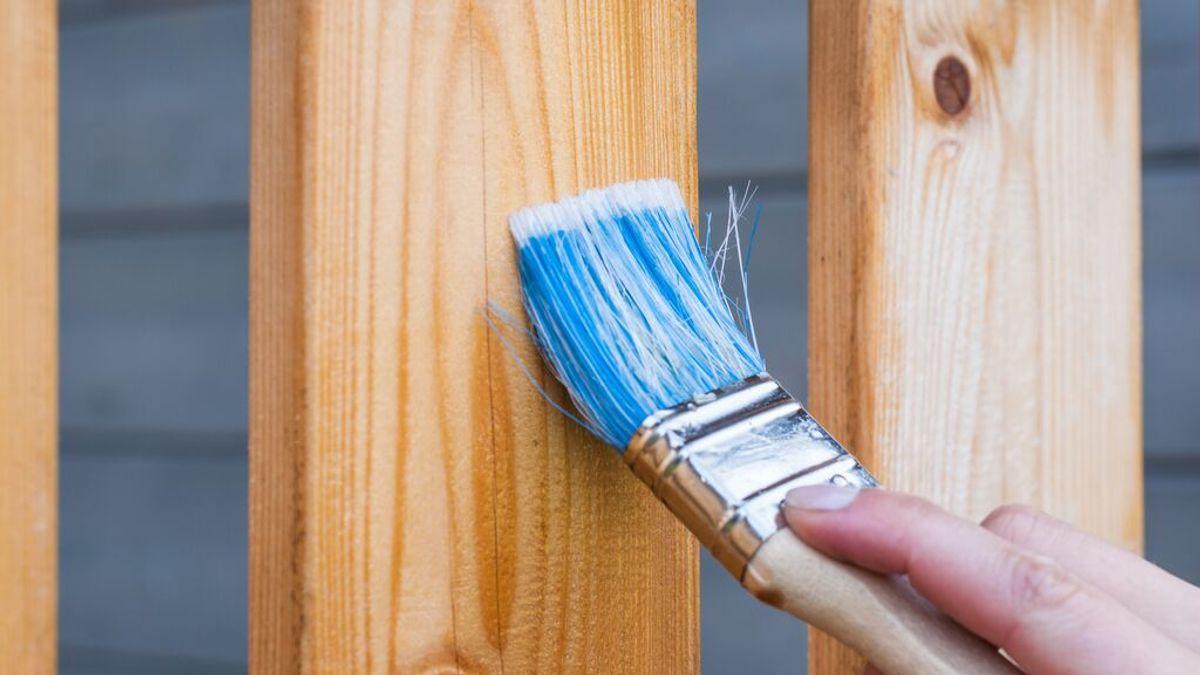 Cómo pintar la madera
