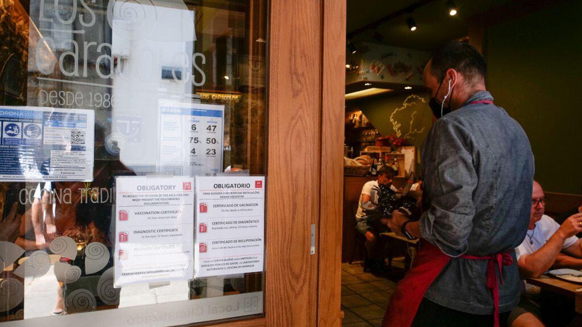 El Supremo da la razón a la Xunta y avala que se exija el pasaporte covid para acceder a locales de hostelería