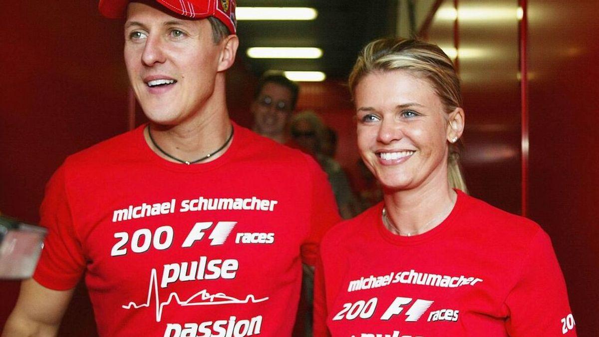 Dentro del matrimonio de Michael Schumacher: su mujer Corinna recuerda cómo se enamoró del campeón