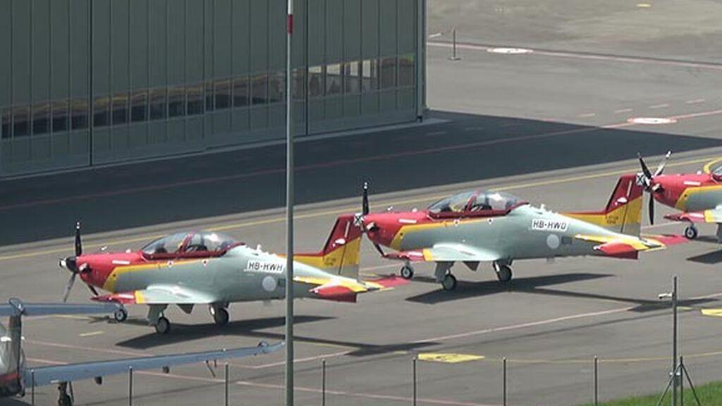 Defensa investiga el tercer accidente de un avión de la Academia General del Aire en los últimos meses