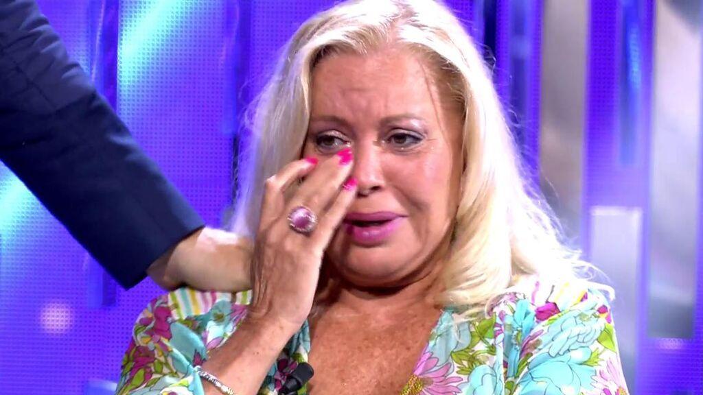 "Bárbara Rey rompe a llorar en el plató de 'Secret Story': ""La vida de mi hija ha sido muy dura"""