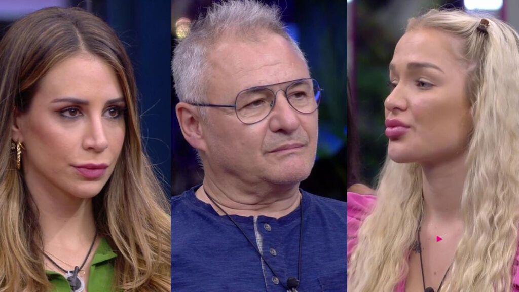 Cristina Porta, Chimo Bayo y Emmy Russ, primeros nominados de 'Secret Story'