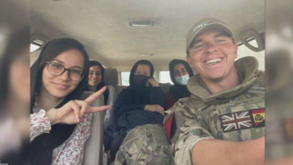 Harry, el militar británico de Murcia que ayudó a los GEO españoles en Kabul