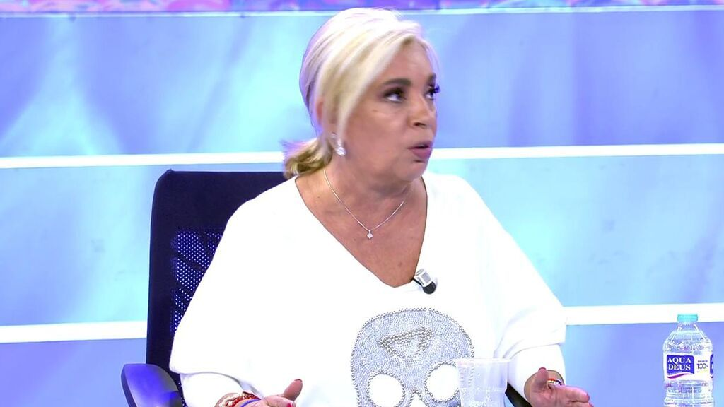 """Carmen Borrego: """"Yo soy la que doy siempre el brazo a torcer"""""""