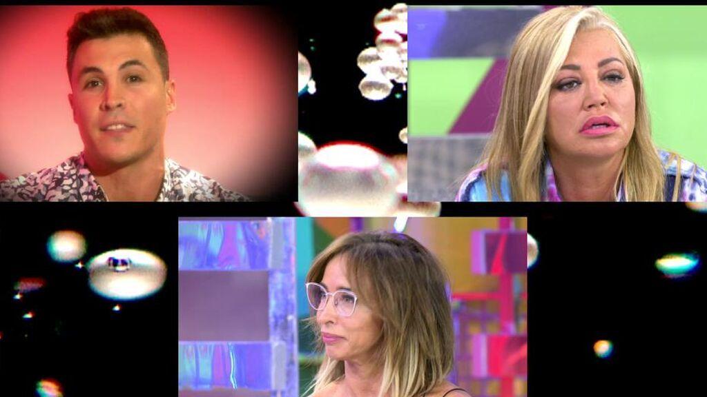 """Kiko Jiménez llama """"basuras"""" a María Patiño y Belén Esteban"""