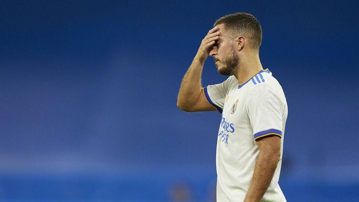 Hazard pasa a la segunda línea: el belga no entra en el esquena de Ancelotti