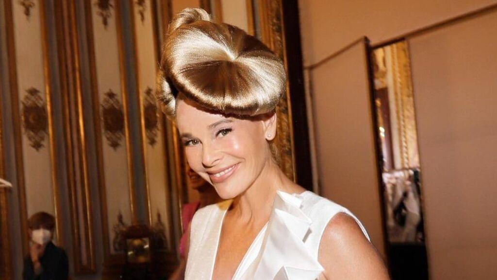 Belén Rueda debuta como modelo en la Semana de la Moda de Madrid