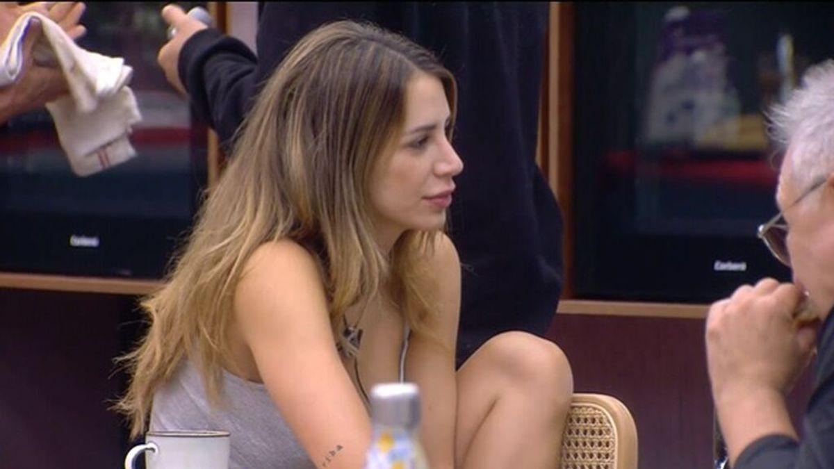 8.00 - 16.00   Cristina cree que sus compañeras Sandra, Fiama y Emmy hicieron un pacto para nominarla