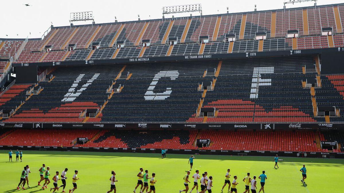 Valencia-Real Madrid: El TSJCV tumba el límite de aforo máximo de 20.000 personas en Mestalla