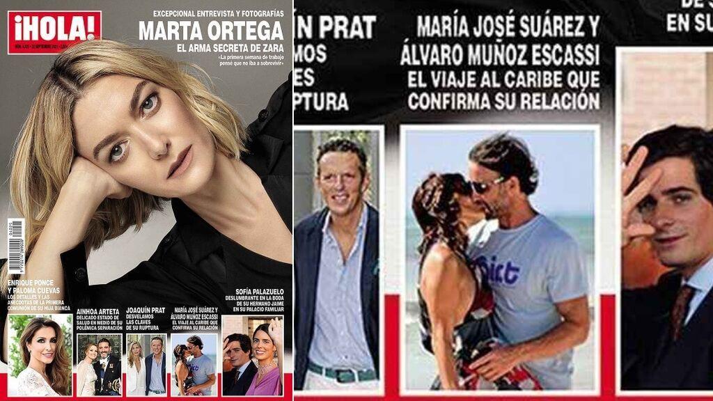 Las esperadas fotos de Escassi y M. J. Suárez