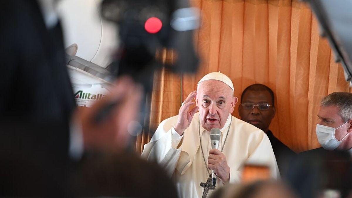 El Papa defiende leyes civiles para parejas homosexuales, pero no el matrimonio