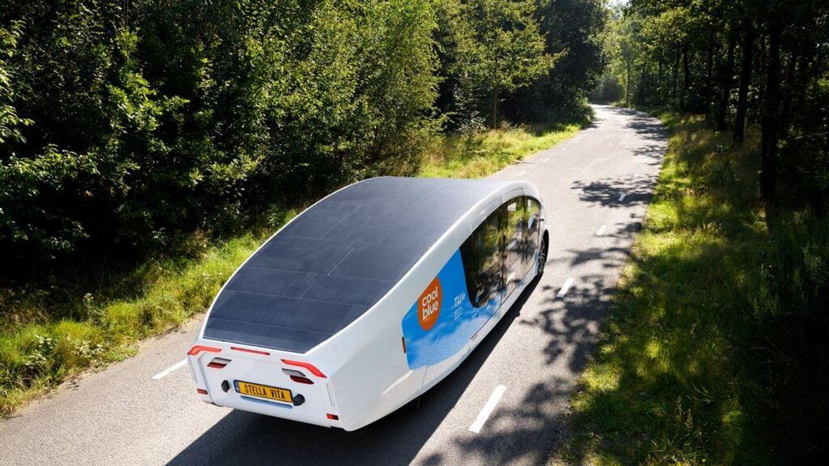 A Tarifa en autocaravana solar: la universidad holandesa de Eindhoven presenta su `Stella Family ´ en un viaje de 3000 kilómetros hasta la localidad gaditana