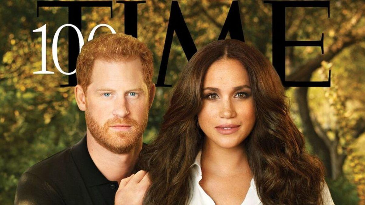 """""""Esto tiene que ser un error"""": Harry y Meghan, ridiculizados por su retocada portada en Time"""