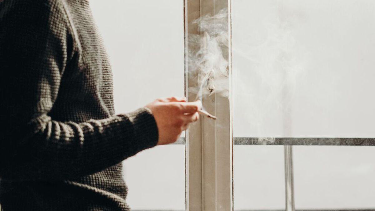 fumar trabajo