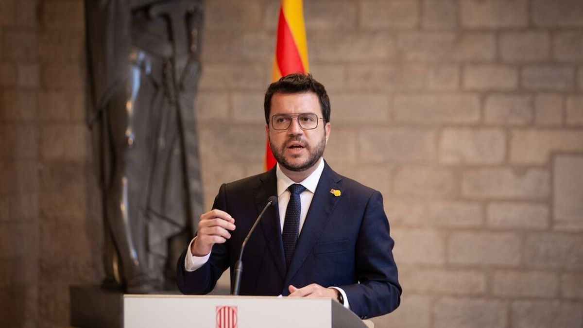 """Aragonès acepta no marcar plazos a la mesa de diálogo pero exigirá """"resultados, concreciones y avances"""""""