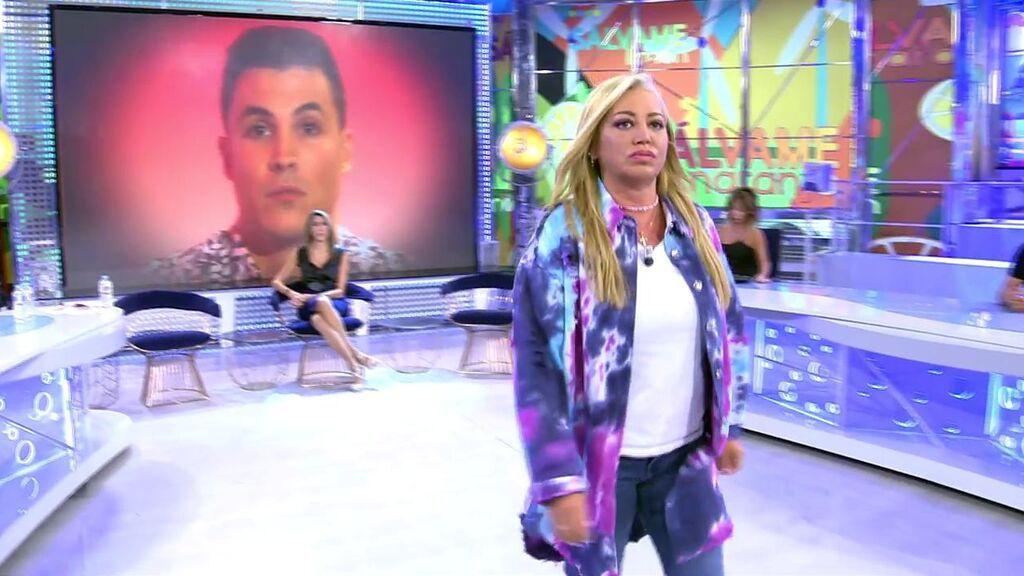 """El monumental enfrentamiento de Belén Esteban y Kiko Jiménez: """"Lo que no he hecho nunca es dormir en un calabozo"""""""