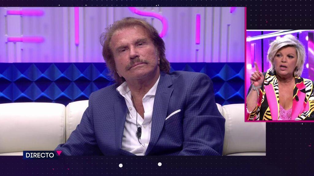 El cara a cara de Terelu Campos y Edmundo Arrocet