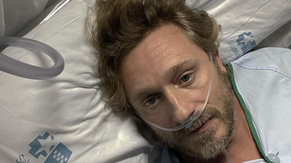 """Juan Peña, ingresado en el hospital por coronavirus: """"Lo que estoy viviendo es un infierno, vacúnense"""""""