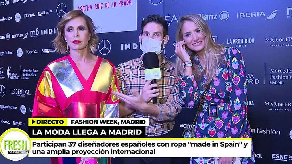 """Alba Carrillo regresa a las pasarelas: """"Si me caso Agatha me hace el vestido"""""""