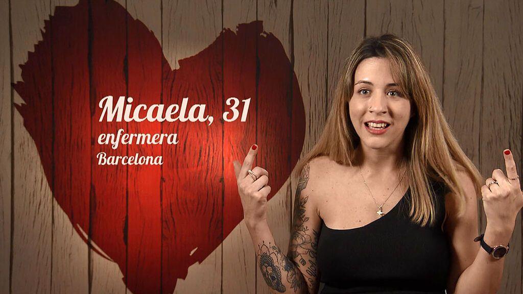 """Las tres reglas de Micaela para no enamorarse: """"Si rompo una de ellas me enamoro"""""""