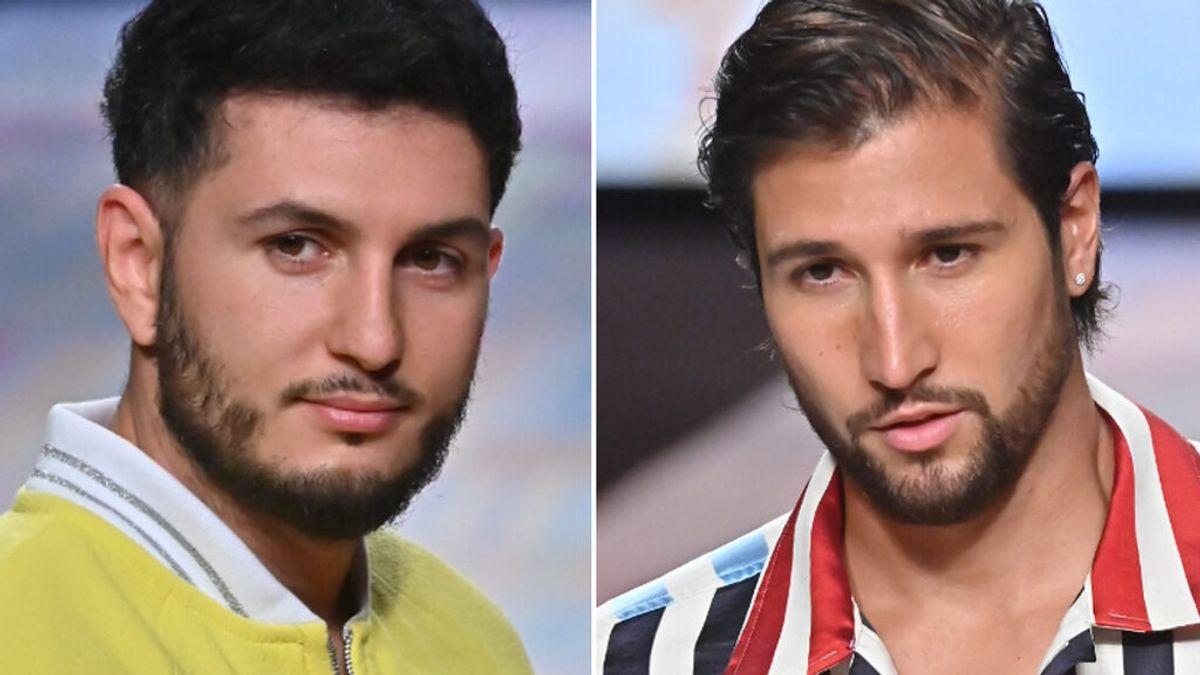 Omar Montes y Gianmarco Onestini desfilan como modelos para Agatha Ruiz de la Prada