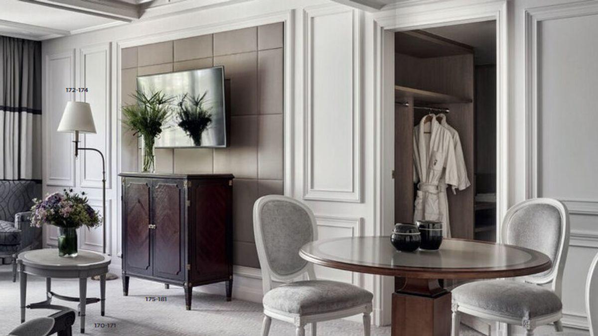 Dormir en la cama de Brad Pitt es posible: el Hotel Villa Magna subasta sus muebles