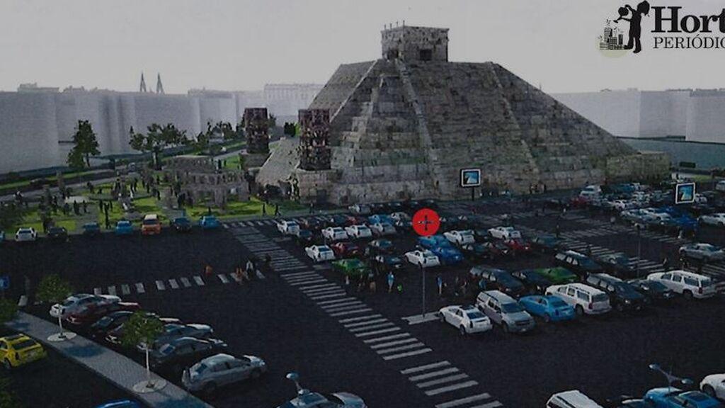 Polémica por el proyecto de Nacho Cano que prevé una pirámide azteca de 30 metros a modo de teatro en Madrid