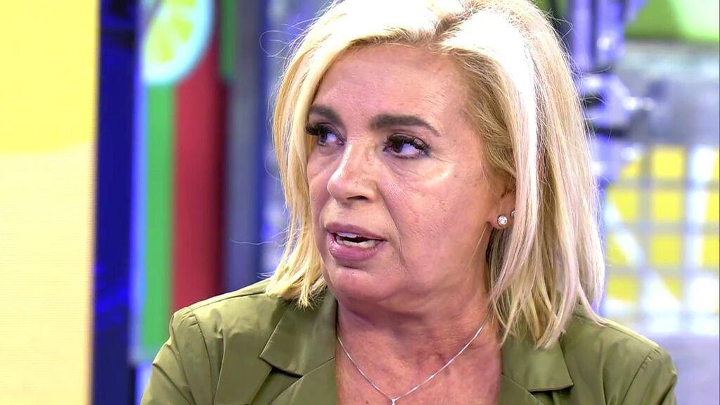 Carmen Borrego escuchó una vez gritar a Bigote Arrocet a su madre