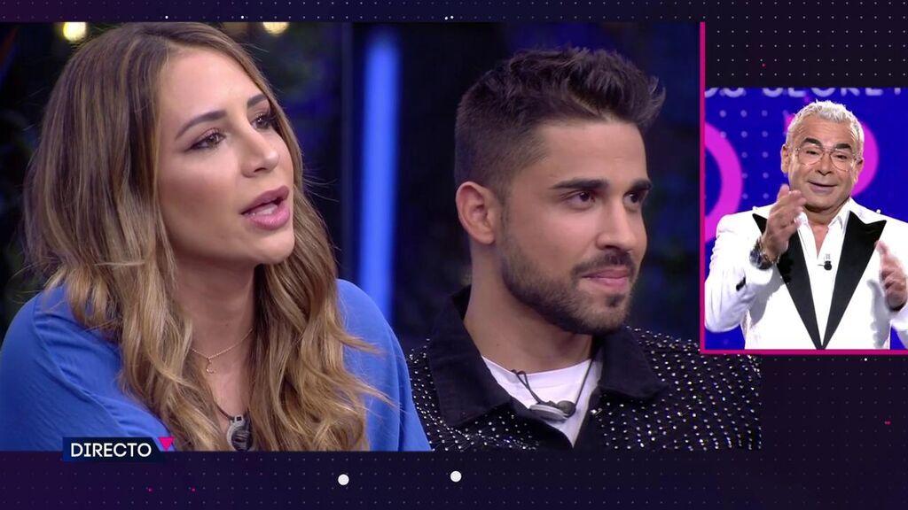 El 'zasca' de Jorge Javier a Cristina cuando ella le pregunta que por qué solo las mujeres quieren que sea la expulsada