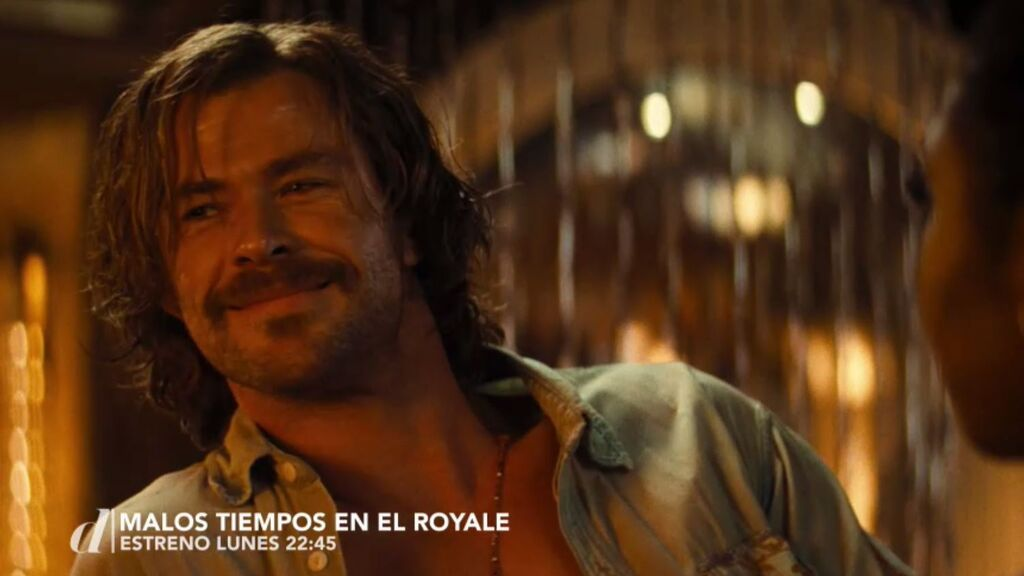 'Malos tiempos en El Royale', este lunes a las 22:45 horas, gran estreno en Divinity