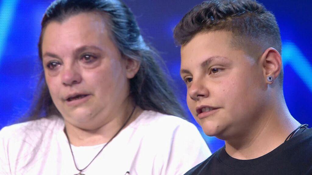 Samuel pide perdón a su madre