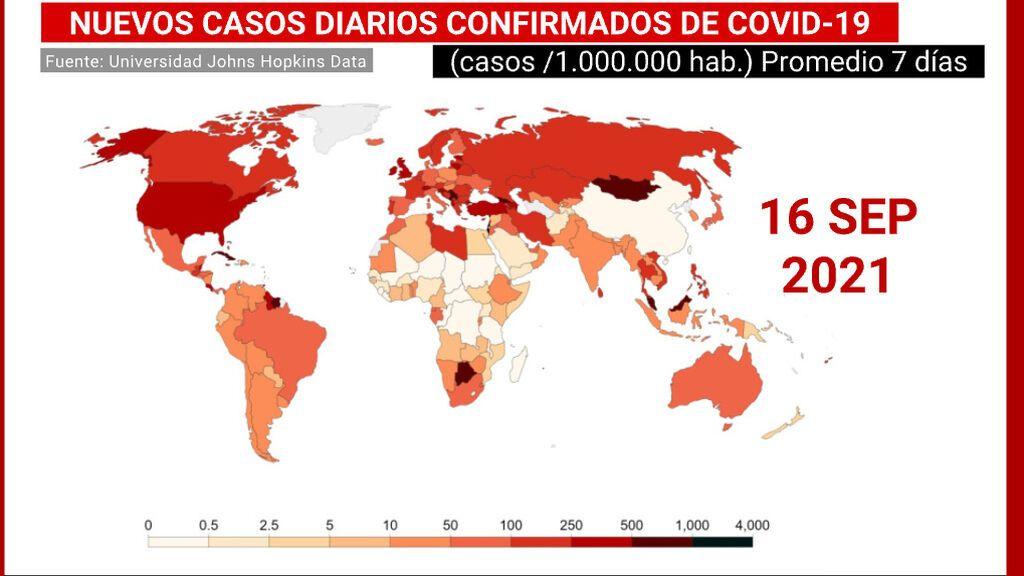 Podemos estar en vías de controlar la pandemia: tendencia mundial a la baja con algunas excepciones