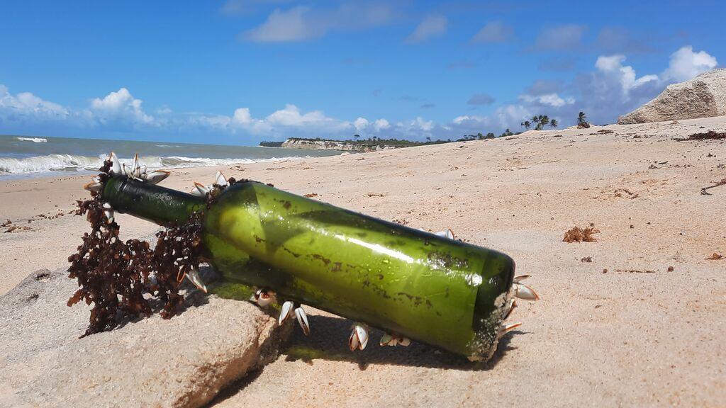 Mensaje en una botella: encuentran en Brasil una nota lanzada al mar hace tres años desde el Juan Sebastián de Elcanoo