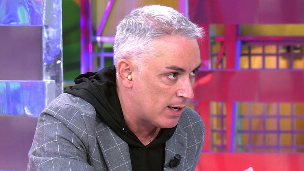 """Kiko Hernández: """"La madre de Isabel Pantoja está ingresada, yo tuve que avisar a Kiko Rivera y a Anabel"""""""