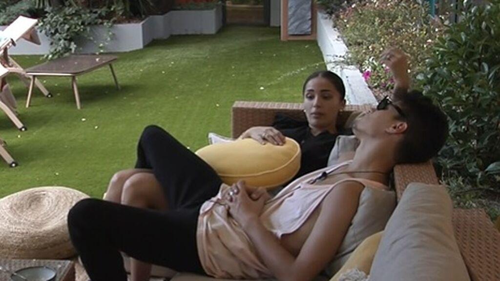 Sandra y Julen hablan