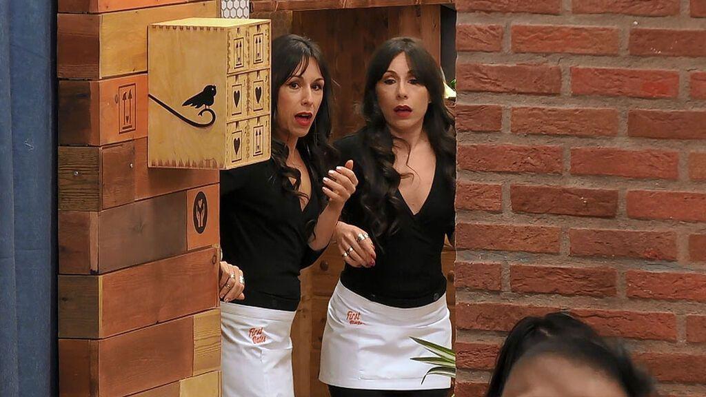"""Las gemelas de 'First Dates', en shock: """"¡Qué susto me ha dado!"""""""