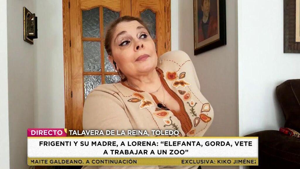 Marisa pide perdón a Lorena Edo