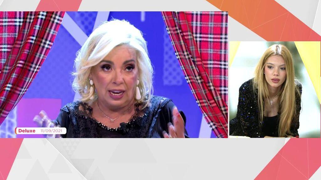 Alejandra Rubio ve lo que Carmen borrego dijo de ella