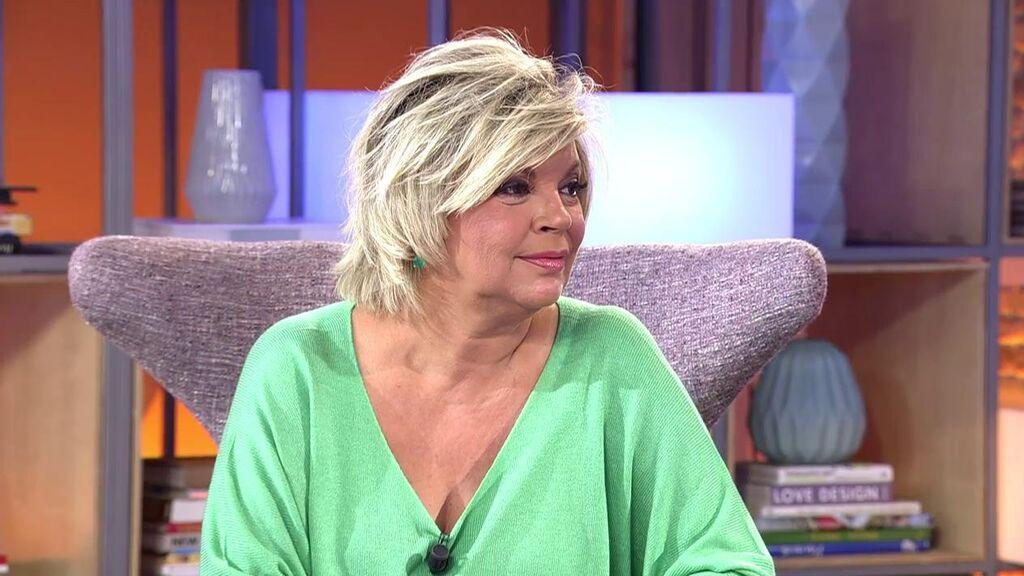 Terelu Campos habla de su enfado con Carmen Borrego