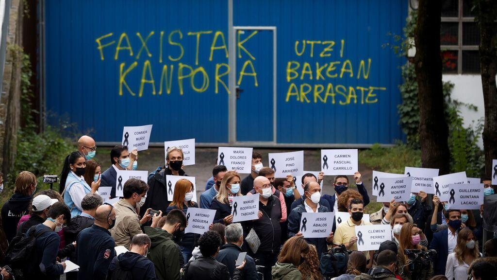 Indignación de las victimas de eta por las concentraciones en favor de los presos de la banda terrorista