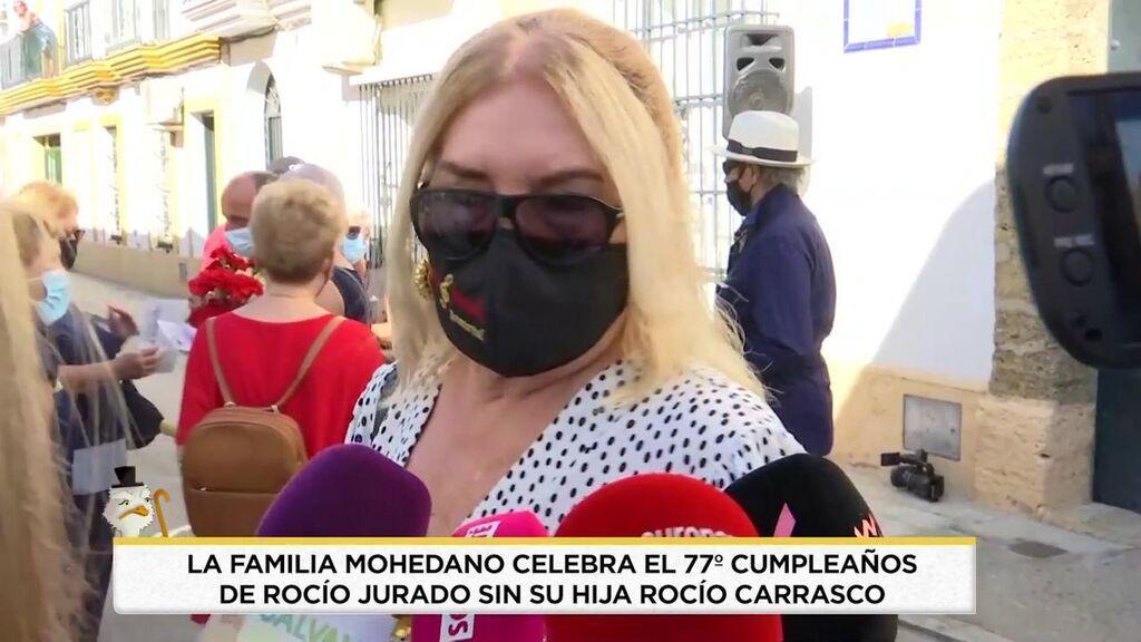 Pullita de Gloria Mohedano a Rocío Carrasco