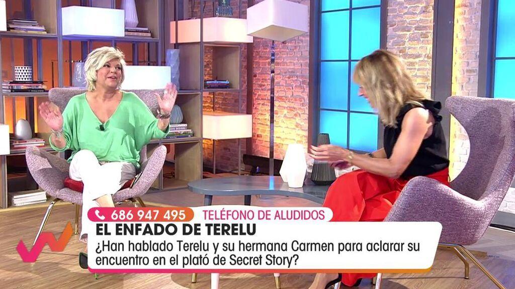 Emma García habla con Terelu Campos